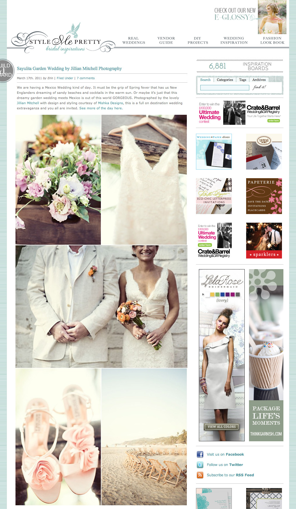 Vintage Mexican Wedding Featured On Style Me Pretty
