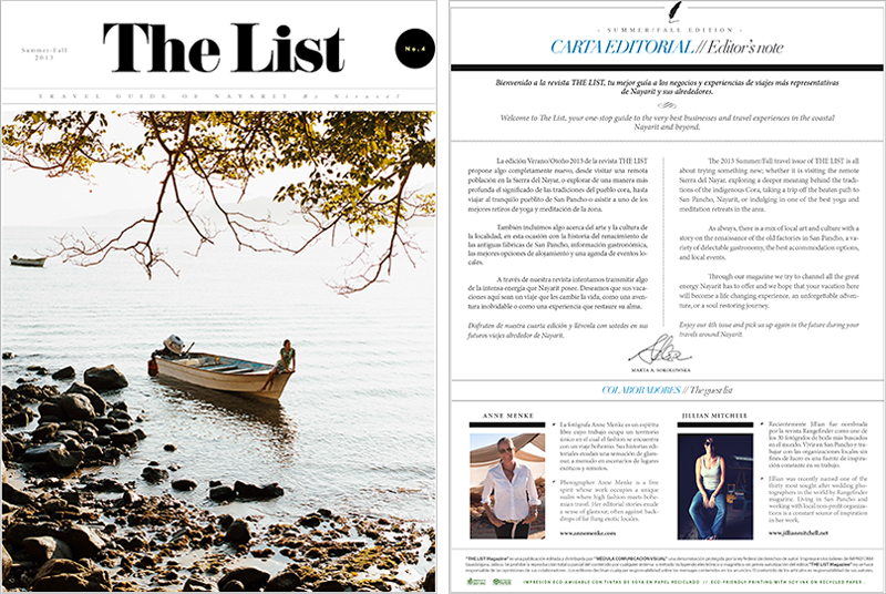 The List Riviera Nayarit Jillian MItchell Photographer