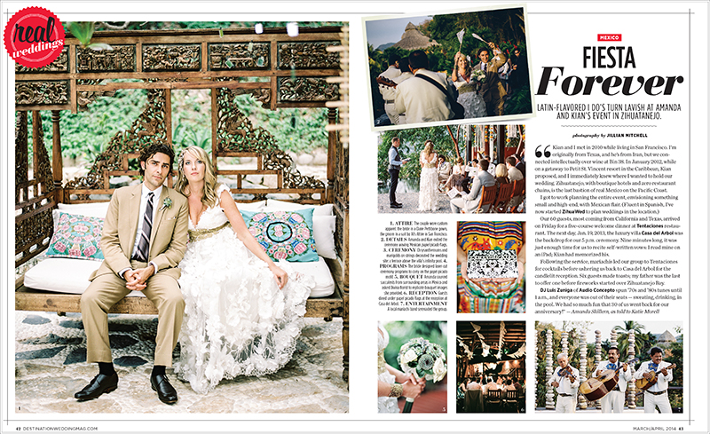 Zihuatanejo Mexico Destination Wedding by Jillian Mitchell