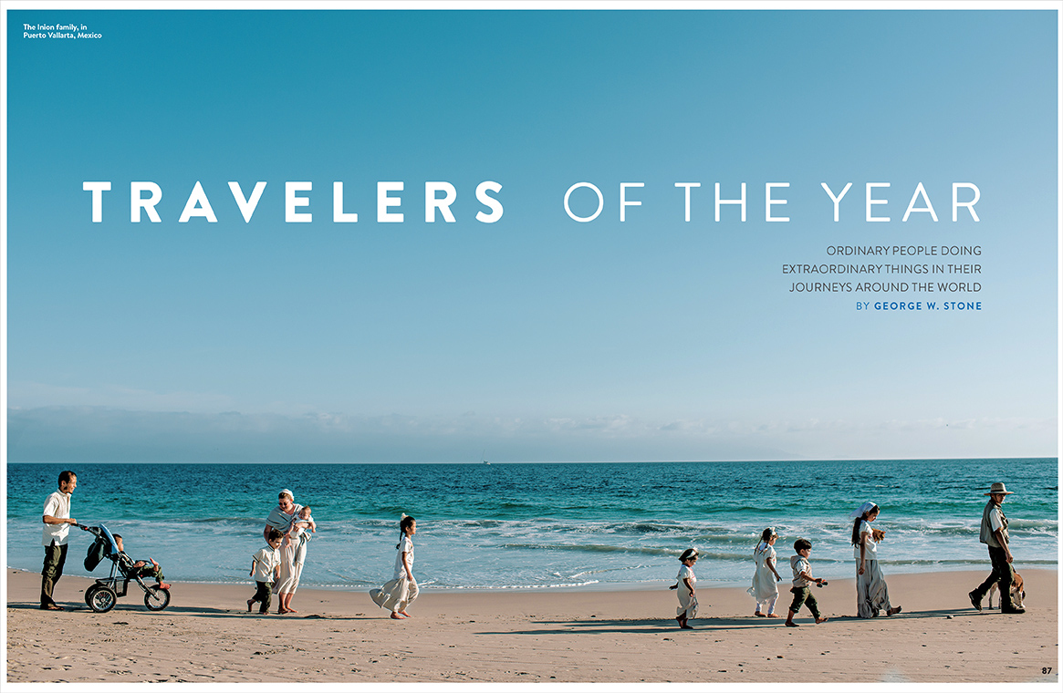 National Geographic Travelers of the Year 2014