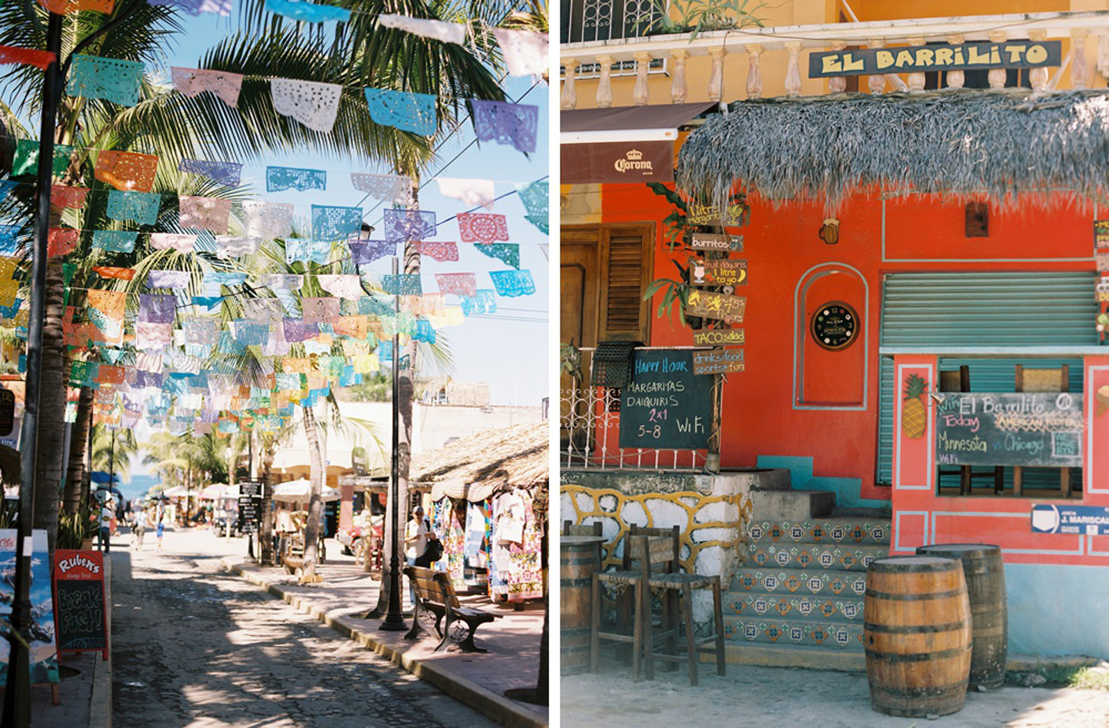 Destination Wedding Photography Sayulita Mexico on Kodak Film