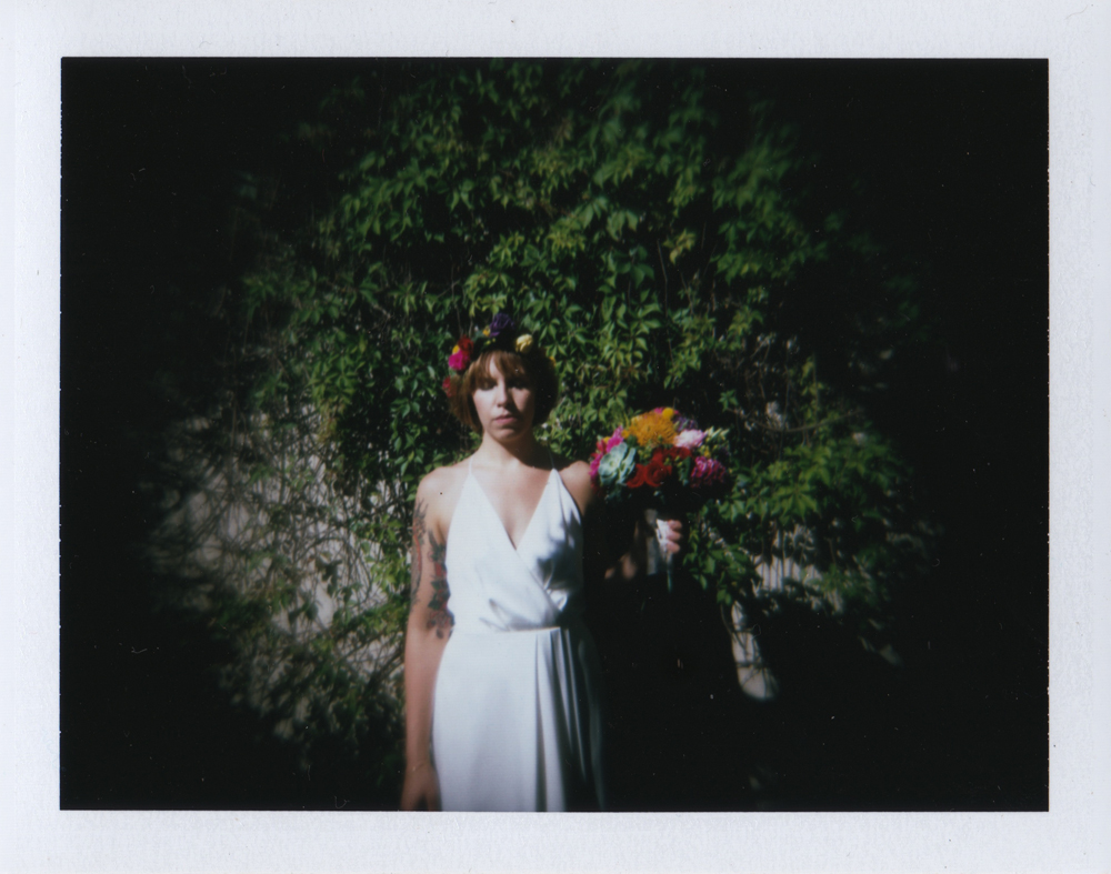 Bridal portrait fine art wedding photographer destination wedding holga kodak